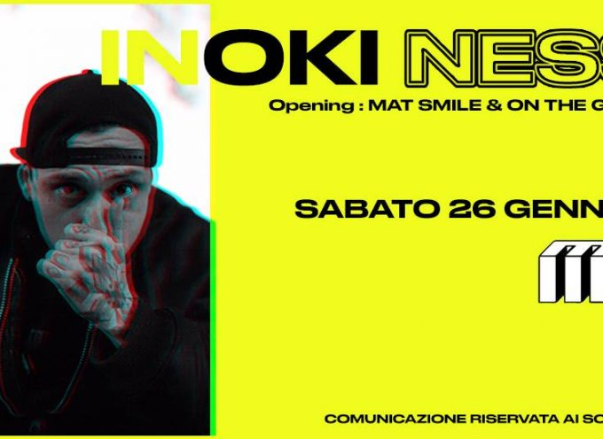 Inoki live al Mu di Parma il 26 gennaio