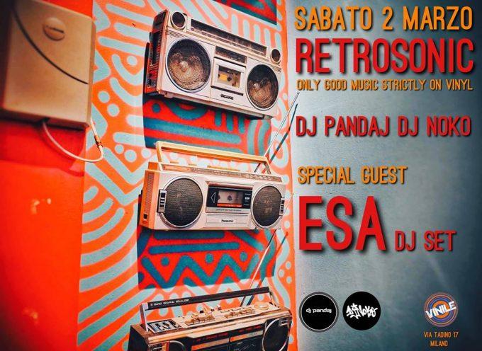 Dj Noko from Rap Pirata Lombardia in console per il Retrosonic