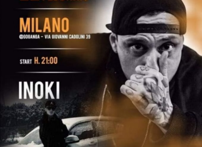 Inoki Ness live a Milano presso il Goganga