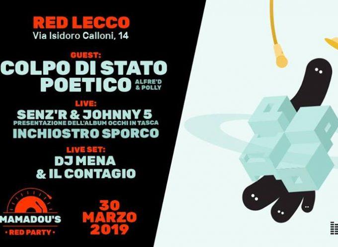 Colpo Di Stato Poetico live @ Lecco, Sabato 30 Marzo