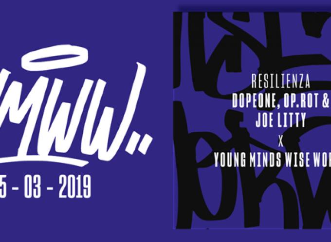 Resilienza – quarta traccia del collettivo YOUNG MINDS WISE WORDS con Op.rot e Dope One su beat di Joe Litty