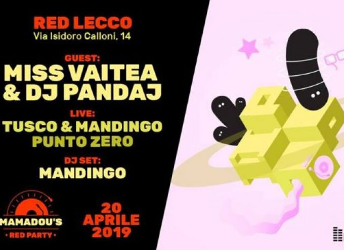 Miss Vaitea & Dj Pandaj @ Mamadou's Red Party | 20/04/19