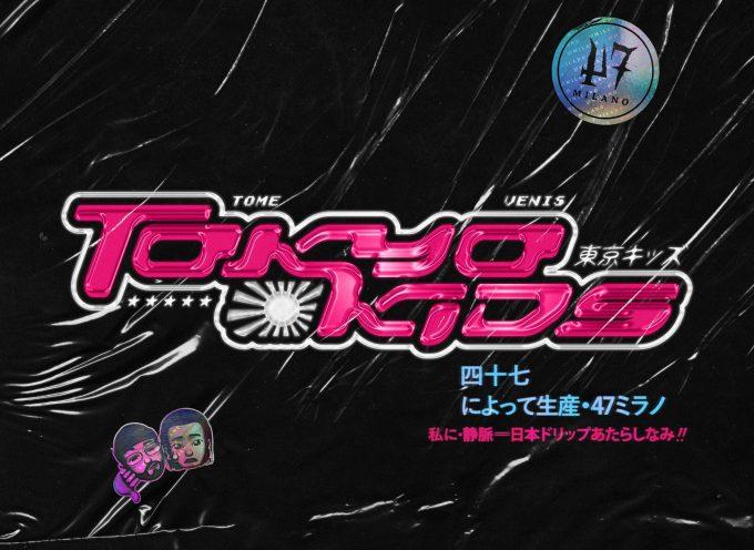 """""""Tokyo Kids"""": il nuovo disco di Tome & Venis è un biglietto di sola andata per il paese del Sol Levante!"""