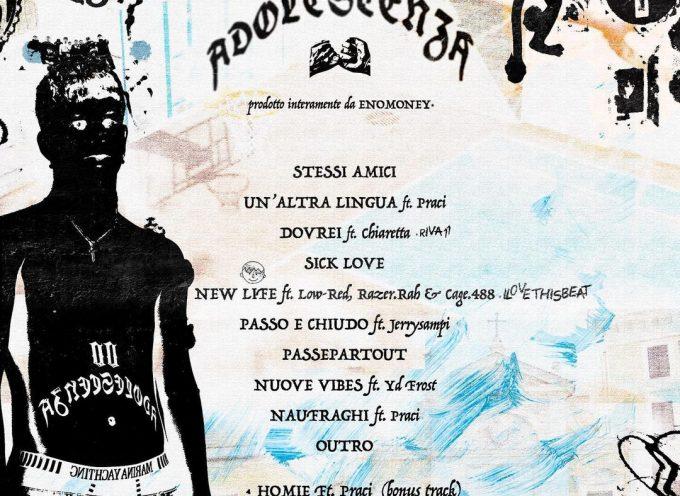 00 Adolescenza Mixtape: il progetto di debutto di Sgribaz