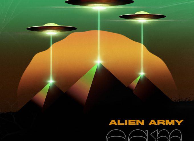 """""""OGM"""": il settimo disco degli Alien Army arriva anche in copia fisica"""